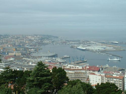 Un crucero de lujo atraca en el puerto de vigo - Puerto de vigo cruceros ...