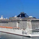 El MSC Divina, destinado al Mediterráneo