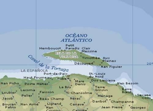 Isla de la Tortuga en Haiti