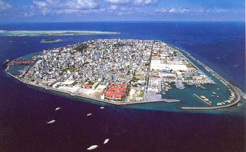 Male en Maldivas