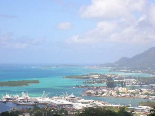 Port Victoria en Seychelles