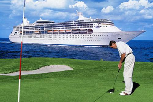 Cruceros para practicar el golf