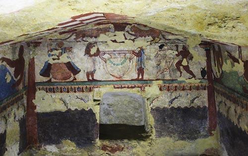 Necrópoli de Tarquinia