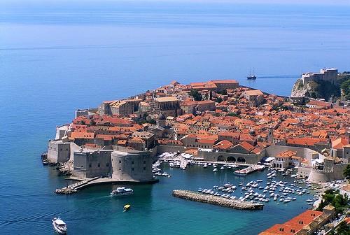 Dubrovnik, puerto del Mediterráneo Oriental