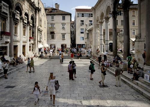 Palacio Diocleciano. Split