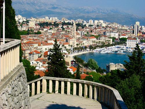 Split, un puerto a la sombra de Dubrovnik