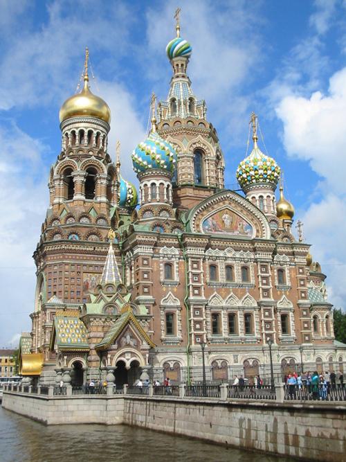 Iglesia de la Sangre Derramada. San Petersburgo