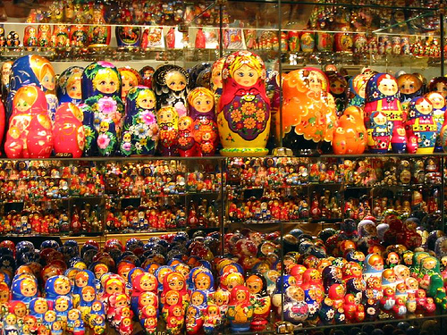 Matrioshkas. San Petersburgo
