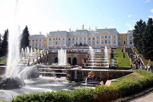 Palacio Peterhof. San Petersburgo