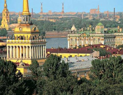El puerto de San Petersburgo: información y excursiones