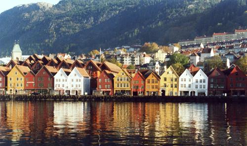 Bergen, crucero por los fiordos noruegos