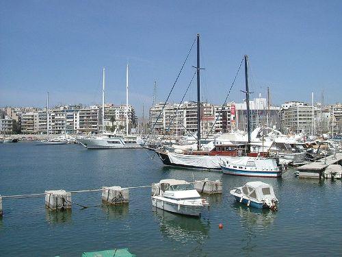 El Pireo, Puerto de Atenas