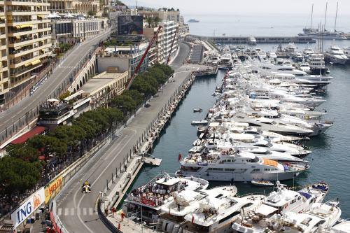 Puerto de Monaco. Formula 1
