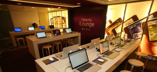 iLounge con tienda Apple de Celebrity Cruises