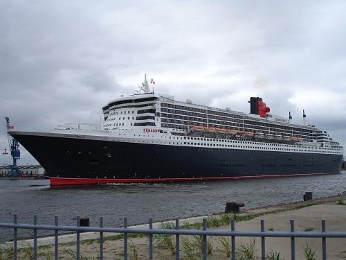 Renovación del Queen Mary 2 para Enero 2012