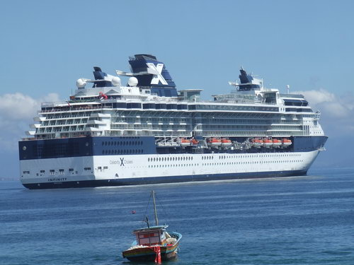 Los cruceros son el transporte más seguro